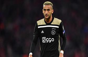 حكيم زياش يعتذر لوزير الرياضة المغربي عقب الخروج من أمم إفريقيا