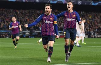 ميسي يحرز الهدف الثالث لبرشلونة في شباك ليفربول بنصف نهائي دوري أبطال أوروبا