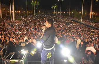 محمد حماقي يتألق في حفل جامعة القاهرة| صور