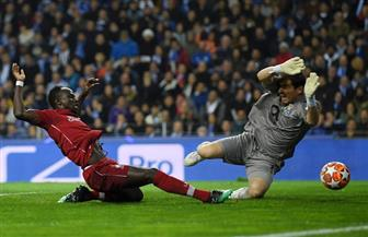 ليفربول يتقدم على بورتو فى الشوط الأول بدورى أبطال أوروبا بهدف مانى