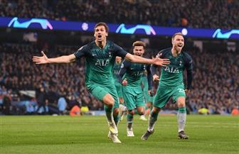 توتنهام يتأهل إلى نصف نهائى دورى أبطال أوروبا رغم الخسارة من مانشستر سيتى فى مباراة درامية| فيديو