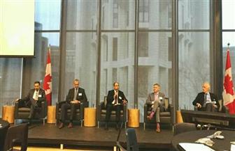 سفير مصر في كندا يروج لفرص الاستثمار في مصر أمام منتدى الأعمال الكندي العربي