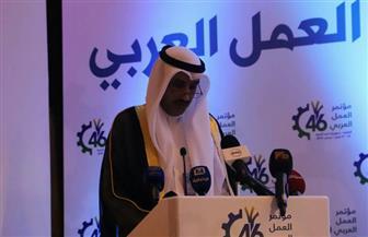 مدير منظمة العمل العربية يوجه برقية شكر للرئيس السيسي | صور