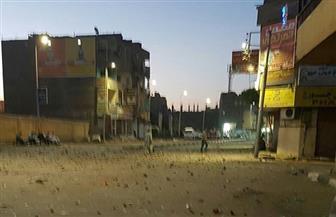 كردون أمني بمنطقة أبو الجود بالأقصر بعد اشتباكات دامية بين عائلتين