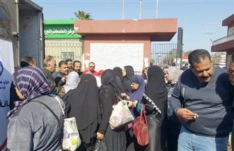 """""""مستقبل وطن"""" ببورسعيد يدفع بمنفذ بيع للسلع الغذائية بمنطقة الاستثمار"""