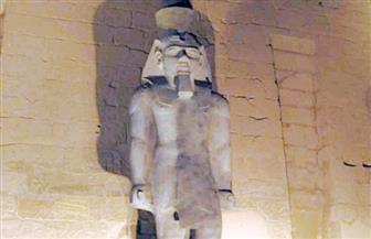 """إزاحة الستار عن تمثال """"رمسيس الثاني"""" بمعبد الأقصر.. غدا الخميس"""