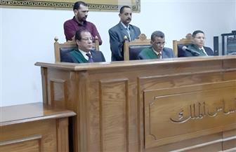 جنايات المنيا تقضي بحبس 38 متهما بمغاغة وسمالوط  في أحداث تجمهر وتظاهر وقطع طرق