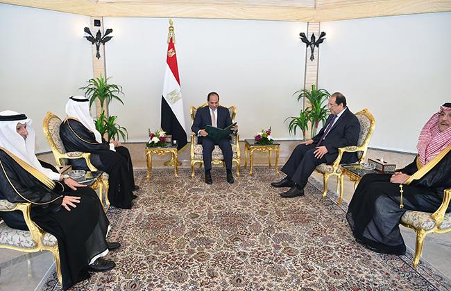 الرئيس السيسي يؤكد متانة العلاقات التاريخية مع السعودية وحرص مصر على تعزيز التعاون -