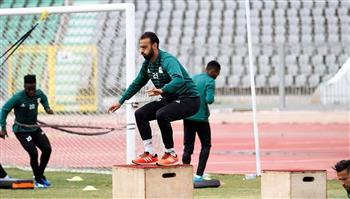 تدريبات شاقة للاعبي المصري استعدادا لمواجهة الأهلي