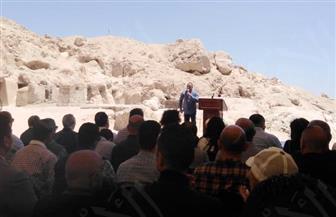 العناني يعلن من الأقصر افتتاح متحف شرم الشيخ وتطوير الهرم وطريق الكباش | صور