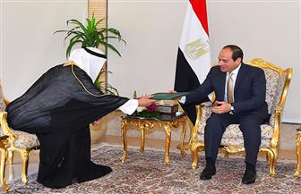 الرئيس السيسي يتلقى رسالة من الملك سلمان تضمنت التنسيق المشترك إزاء القضايا الإقليمية