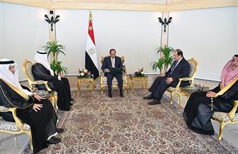 الرئيس السيسي يؤكد متانة العلاقات التاريخية مع السعودية وحرص مصر على تعزيز التعاون