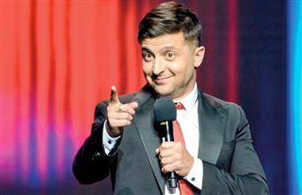 استطلاع: الممثل الكوميدي زيلينسكي يحتفظ بالصدارة في انتخابات الرئاسة الأوكرانية