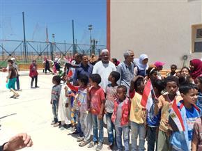 مستقبل وطن بالشلاتين يشارك في الاحتفال بيوم اليتيم |صور