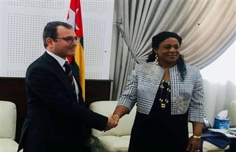 سفير مصر فى لومي يبحث سبل تدعيم التعاون البرلماني بين مصر وتوجو