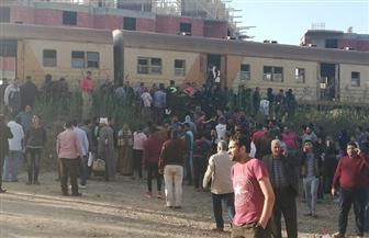السكك الحديدية: سقوط بوجى العربة الثانية من قطار قلين بكفر الشيخ وإصابة 9 ركاب