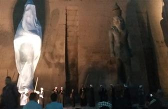 وزير الآثار يفتتح مشروع ترميم وإعادة رفع تمثال الملك رمسيس الثاني|صور