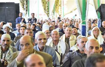 مؤتمر جماهيري حاشد بالدلنجات لدعم التعديلات الدستورية  صور