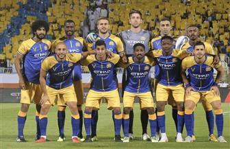 """""""النصر"""" يتخطى """"ضمك"""" بثنائية في افتتاحية الدوري السعودي للمحترفين"""