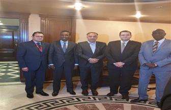لجنة التعاون الإفريقي تستقبل وزير خارجية الصومال والوفد المرافق| صور