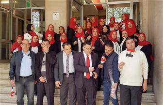 إقبال كثيف من المصريين بإيطاليا على الإدلاء بأصواتهم في التعديلات الدستورية| صور