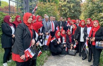 أبناء الجالية المصرية في ميلانو يتوجهون للإدلاء بأصواتهم في التعديلات الدستورية| صور