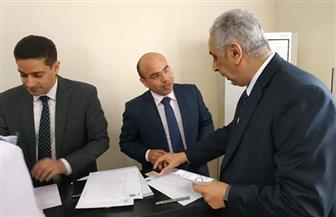 السفير المصري بالصين يدلي بصوته في الاستفتاء على التعديلات الدستورية| صور