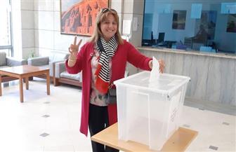 توافد المصريين في أبو ظبي ودبي للتصويت على التعديلات الدستورية