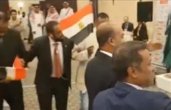 """شباب """"مصر الثورة"""" يشاركون في الاستفتاء على التعديلات الدستورية بالسعودية"""