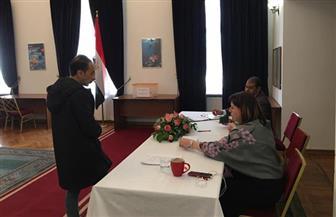 إقبال متوسط على الاستفتاء بسفارة مصر في موسكو | فيديو وصور