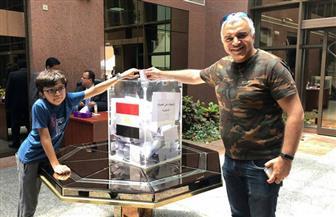 غلق باب التصويت بلندن في أول أيام الاستفتاء على التعديلات الدستورية