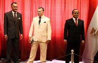 احتفالية رفيعة المستوى لإقامة تمثالين للرئيسين السيسي وعبد الناصر بمتحف الشمع بصربيا |صور