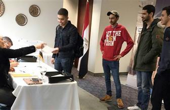 الطلاب المصريون في الجامعات الكندية يقطعون مسافة 500 كم للمشاركة الاستفتاء