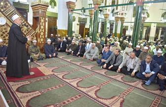 محافظ أسيوط يشهد احتفال مديرية الأوقاف بليلة النصف من شعبان |صور