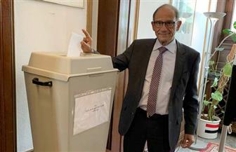هاني عازر يدلي بصوته في التعديلات الدستورية بفرانكفورت في ألمانيا  صور
