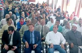 """""""حماة الوطن"""" يواصل جولاته بمحافظة الفيوم لحث المواطنين على المشاركة في الاستفتاء على التعديلات الدستورية  صور"""