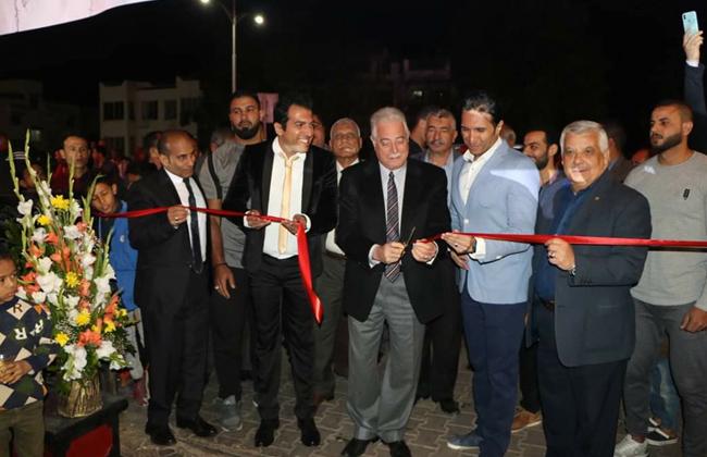 محافظ جنوب سيناء يفتتح  شارع مصر  بمدينة شرم الشيخ   صور -