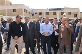 """رئيس جامعة قناة السويس: حريق مستشفى الجامعة محدود.. وسببه """"سيجارة"""""""