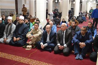 """محافظ بورسعيد يشهد الاحتفال بذكرى """"الإسراء والمعراج"""" في المسجد العباسي"""