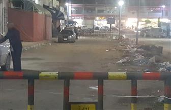 حملة لإزالة 100 بائع خضار جائل من الشوارع الرئيسية بمطروح | صور