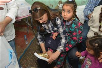 بعد أن زارت القرى الأكثر فقرا بالأقصر.. ماجدة الرومي تنهي بروفات حفل راعي مصر الخيري | صور