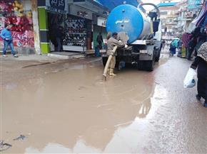 رئيس القابضة للمياه: الدفع بـ 1380 معدة لسحب مياه الأمطار بالمحافظات