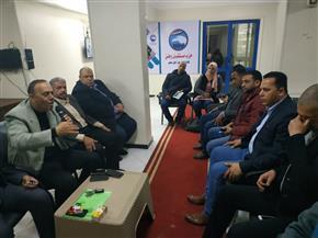 اجتماع أمانة الإعلام بمستقبل وطن بكفرالشيخ لبحث الاستعداد للاستفتاء