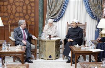 الإمام الأكبر: الأزهر مستعد للتعاون مع الأمم المتحدة لترسيخ السلم العالمي | صور