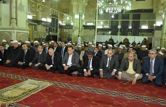 محافظ الشرقية يشهد احتفالية مديرية الأوقاف بذكرى الإسراء والمعراج في مسجد الفتح | صور