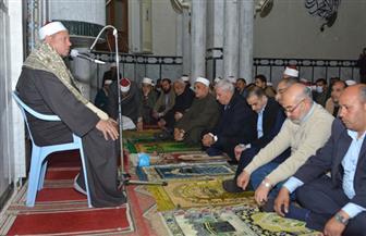 محافظ مطروح يحضر احتفالية ذكرى ليلة الإسراء والمعراج| صور
