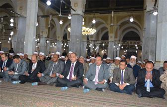 محافظ الغربية يشهد احتفالية مديرية الأوقاف بذكرى الإسراء والمعراج بالمسجد الأحمدي | صور