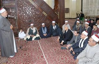 محافظ المنوفية يشهد احتفال مديرية الأوقاف بذكرى الإسراء والمعراج بالمسجد العباسي