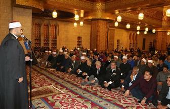 محافظ جنوب سيناء يشهد الاحتفال بذكرى الإسراء والمعراج  في مسجد الصحابة | صور