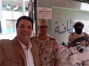 رئيس مدينة منيا القمح ونقيب الموسيقيين بالشرقية يدليان بصوتيهما في التعديلات الدستورية | صور